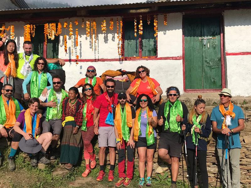 Manaslu Volunteer Trek