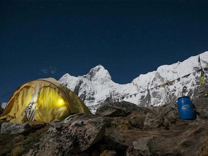Kangchenjunga Base Camp