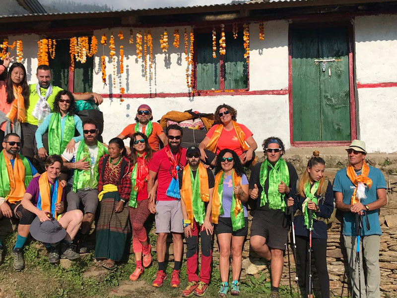 Manaslu Volunteer Trek